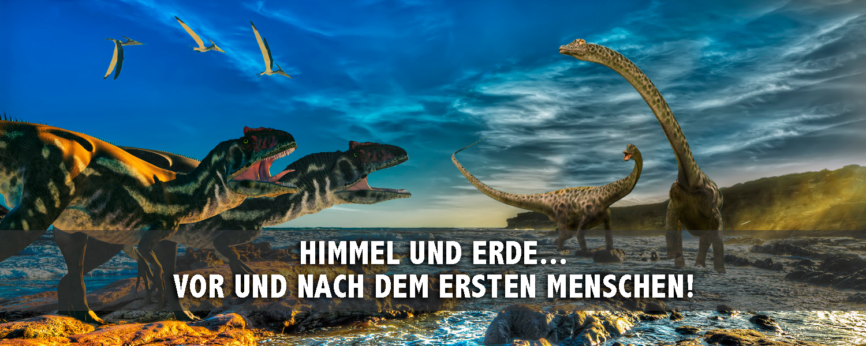 Himmel und Erde… vor und nach dem ersten Menschen! - slide